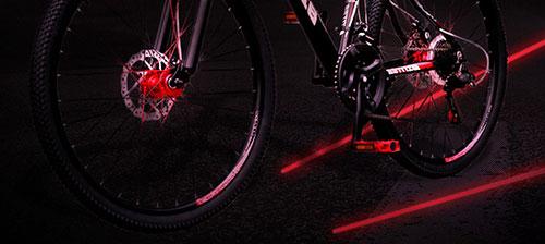 لیزر خطی دوچرخه