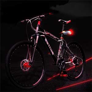چراغ لیزری دوچرخه 7 حالته